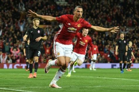 Europa League : Manchester United peut remercier Zlatan!