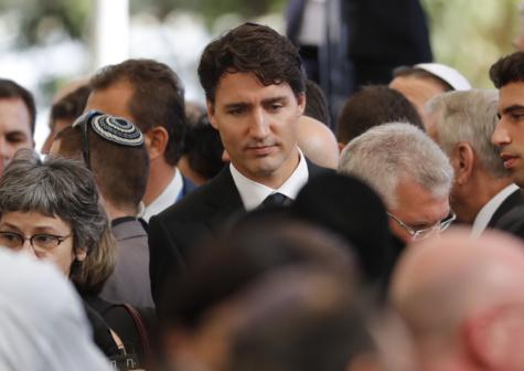 Le Premier ministre canadien Justin Trudeau