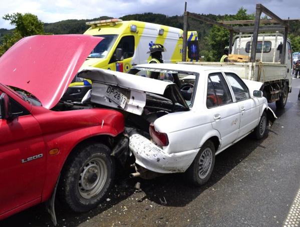 Drame à Linguère: une collision entre un camion de transport de marchandises et un véhicule Peugeot fait deux mort et 30 blessés