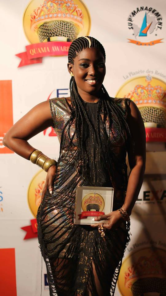 Dior Mbaye remporte le Quama Awards pour le Sénégal devant le Bénin et le Gabon