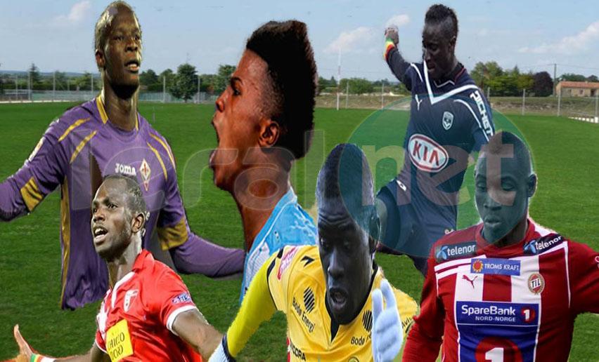 Les 6 buteurs sénégalais du week-end dans les championnats européens de football