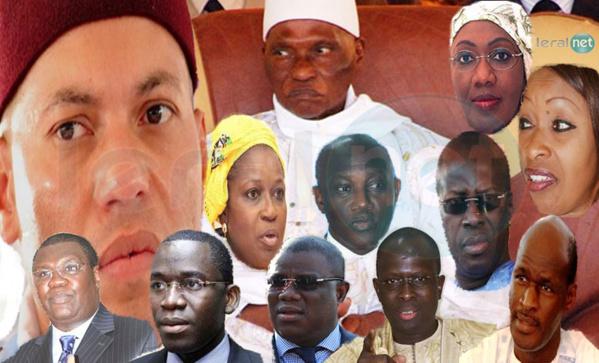 Ils ont renoncé publiquement à la doctrine et au PDS d'Abdoulaye Wade. Ils sont légions avec Ousmane Ngom, les Ndiayène (Serigne Mbacké, Souleymane Ndéné Ndiaye, Awa Ndiaye, en passant par Innocence Tap Ndiaye, Thierno Lô, aux plus jeunes Modou Diagne Fada, Aliou Sow et Khafor Touré.