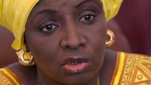 Aminata Touré, envoyée spéciale du Président de la République