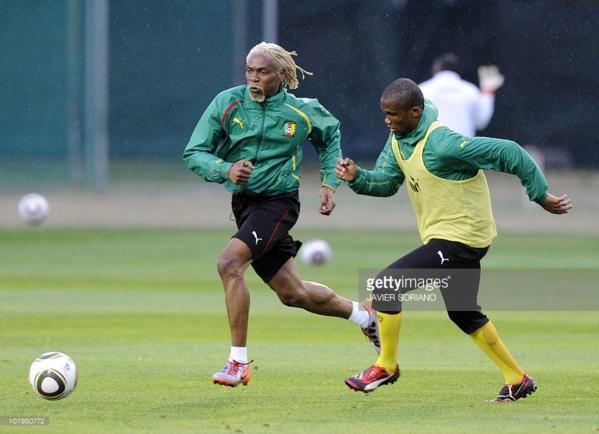 Samuel Eto'o et Rigobert Song, de vieux amis.