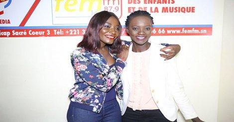 En tournée africaine : Rama Yade reçue par Coumba Gawlo dans les locaux de Fem Fm