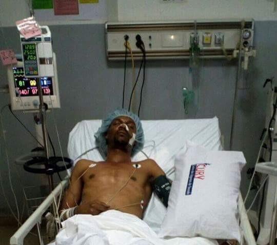 Arrêt sur image : Rigobert Song sur son lit d'hôpital