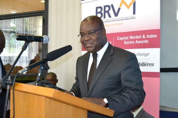 Edoh Kossi Amenounve, Directeur Général de la BRVM