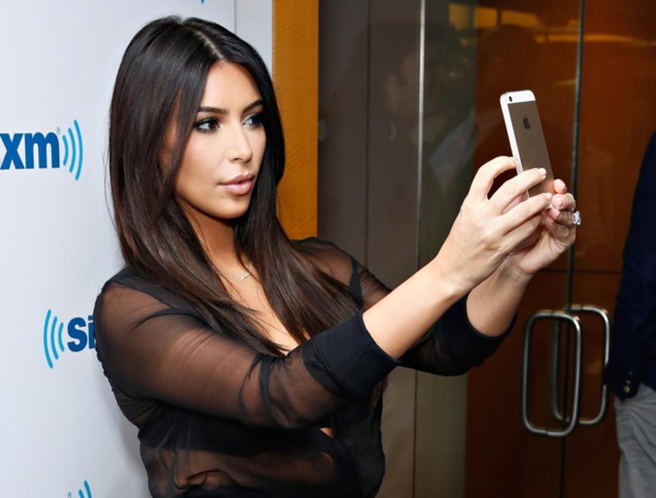 Kim Kardashian version selfie.