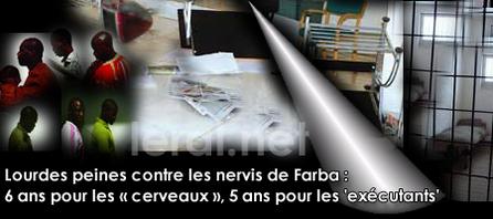 (Audio - Audio) Saccage de l'AS et 24 Heures Chrono : Lourdes peines contre les nervis de Farba : 6 ans pour les « cerveaux », 5 ans pour les 'exécutants'