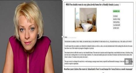 À Londres, des logements sont loués gratuitement en échange de faveurs sexuelles