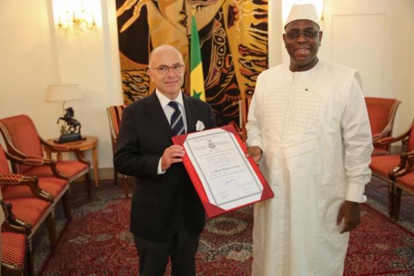 Coopération bilatérale: le Président Macky Sall a reçu le ministre l'Intérieur français, Bernard Cazeneuve