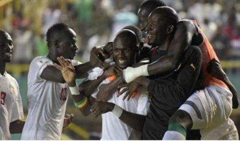 Moussa Sow, Sadio Mané, Khadim Ndiaye