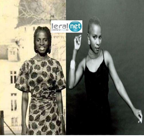 Angélique Kidjo en noir et blanc!!
