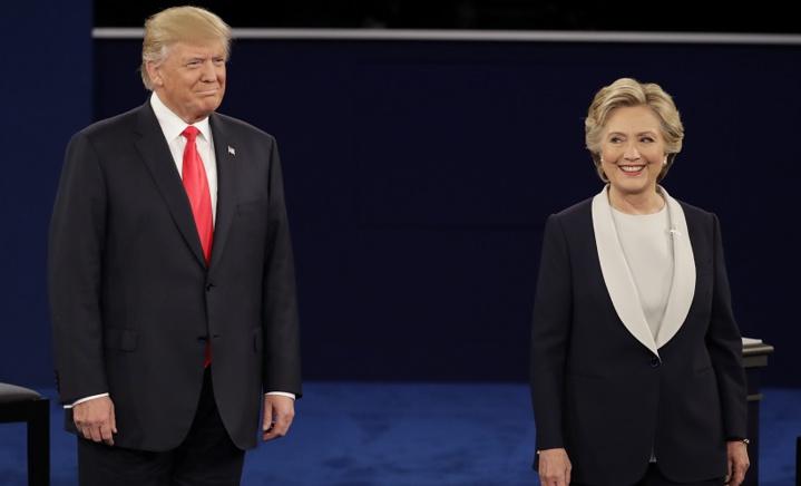 Présidentielle aux États-Unis : un nouveau sondage donne 11 points d'avance à Hillary Clinton