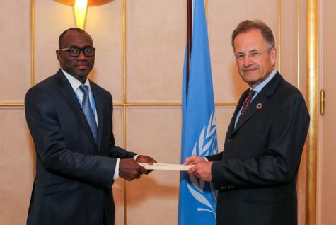 Office des Nations Unies à Genève : Le nouveau représentant permanent du Sénégal a présenté ses lettres de créances