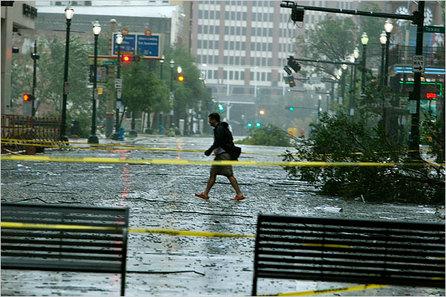 [Photos] Cyclone Ike: L'oeil du cyclone atteint le Texas aujourd'hui !
