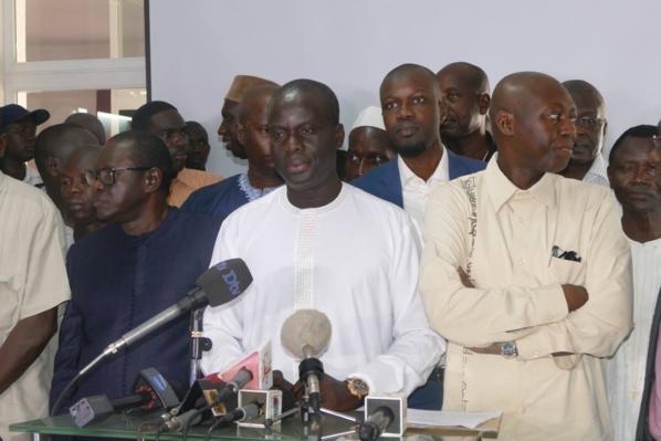 La décision du préfet de Dakar attendue demain sur la déclaration de marche introduite par les leaders de Mànkoo Wattu Senegal