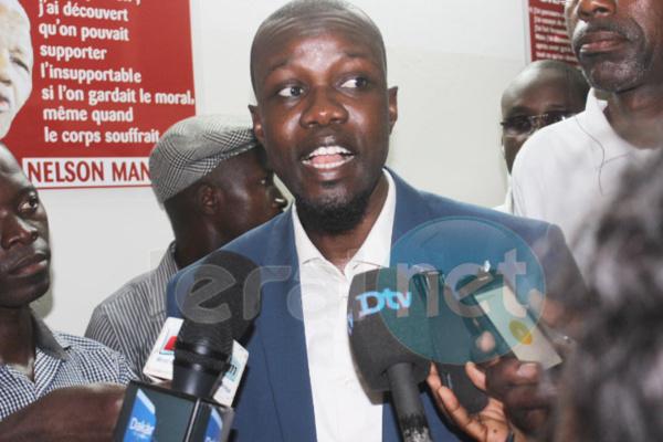 Ousmane Sonko, ex inspecteur des impôts et domaine. Président du parti Pastef