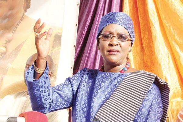 Le professeur Amsatou Sow Sidibé