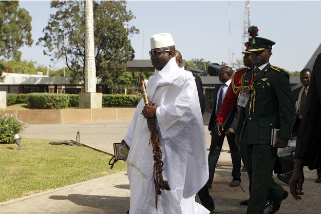 Le président gambien Yahya Jammeh, en décembre 2015