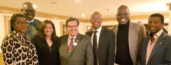 Khalifa Sall, maire de Dakar au 5e Congrès des dirigeants locaux et régionaux à Bogotá en Colombie