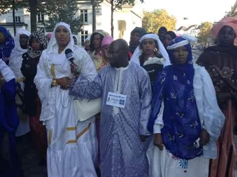 Photos: Journée Cheikh Ahmadou Bamba, Bremen, organisée par la fédération touba Allemagne sous la présence de Serigne Mame Mor Mbacke avec les autorités locales le 16 et le 17 octobre