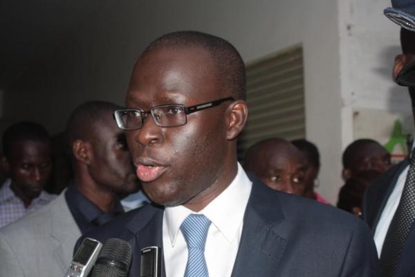 Le leader du FSD/BJ, Cheikh Bamba Dièye