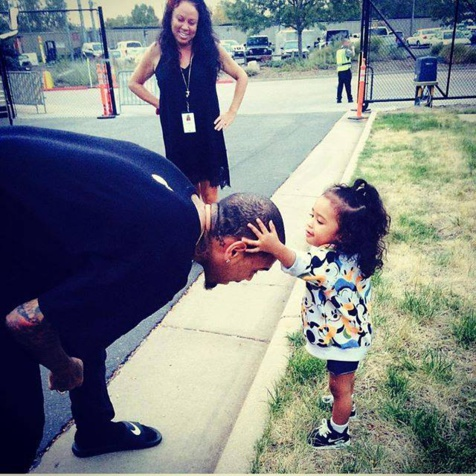 Chris Brown et Royalty sa fille