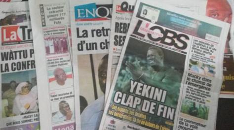 La Une des quotidiens du 18 octobre 2016:  Au menu, les suites de la marche avortée de l'opposition et la retraite du lutteur Yekini