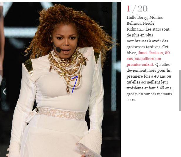 Janet Jackson, Madonna, Halle Berry, Monica Belluci, ces stars qui ont fait un bébé après 40 ans