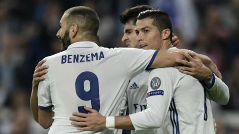 © Javier Soriano, AFP | Le Real Madrid a étrillé le Legia Varsovie à Bernabeu (5-1).