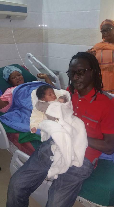 Ismael Isaac, Aicha Koné et le bébé à l'hôpital