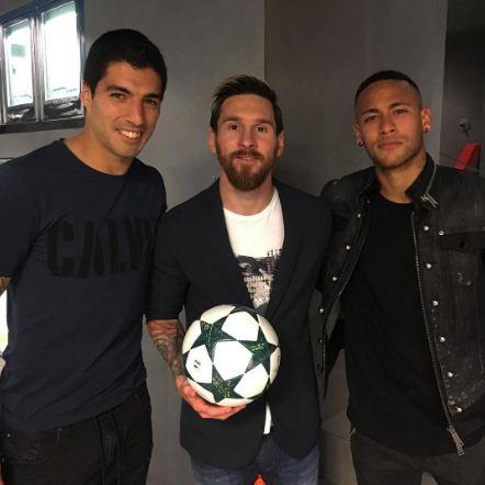 Suarez,  Messi et Neymar