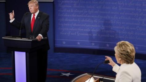 Présidentielle américaine: ce qu'il faut retenir du dernier débat Clinton-Trump