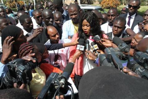 FATOUMATA NIANG BA, Présidente de l'UDES-R « Union pour le Développement du Sénégal/Renouveau »  sur la Coalition Manko wattu : « Nous avons en face de nous une coalition suspecte et douteuse… »