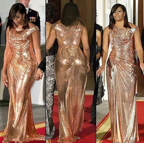 Michelle Obama version 3D