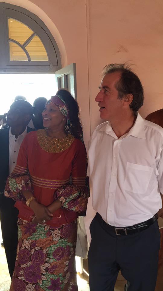 Photos: Me Aïssata TALL SALL  reçoit l'ambassadeur de France au Sénégal à Podor