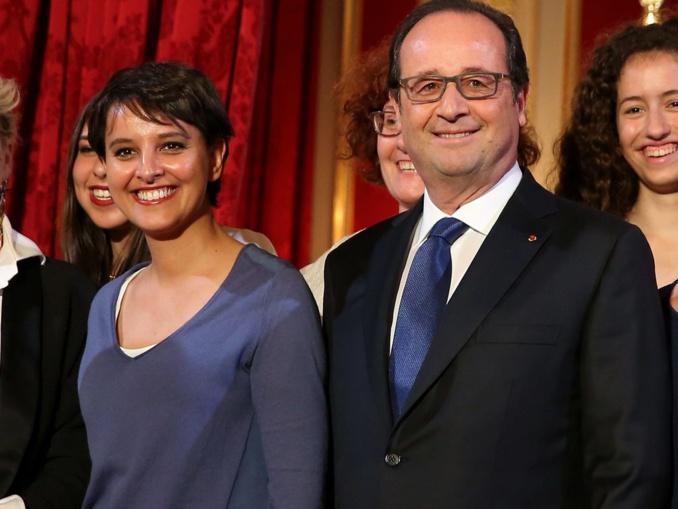 Najat Vallaud-Belkacem, ministre de l'éducation nationale, de l'enseignement supérieur et de la rech © DOMINIQUE JACOVIDES / BESTIMAGE