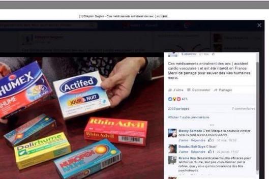 Des médicaments «dangereux» et «interdits en France» sont-ils en vente au Sénégal ?