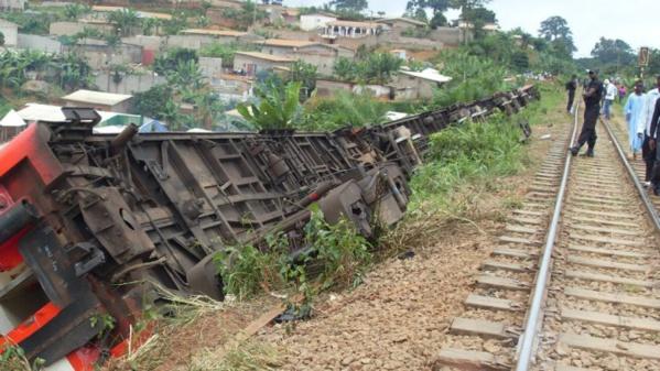 Cameroun : 79 personnes sont mortes dans l'accident de train Yaoundé-Douala