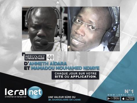 Décryptage Leral-Revue de presse : Ahmad Aïdara et Mamadou Mouhamed Ndiaye, Ces « crieurs publics », stars de la bande FM