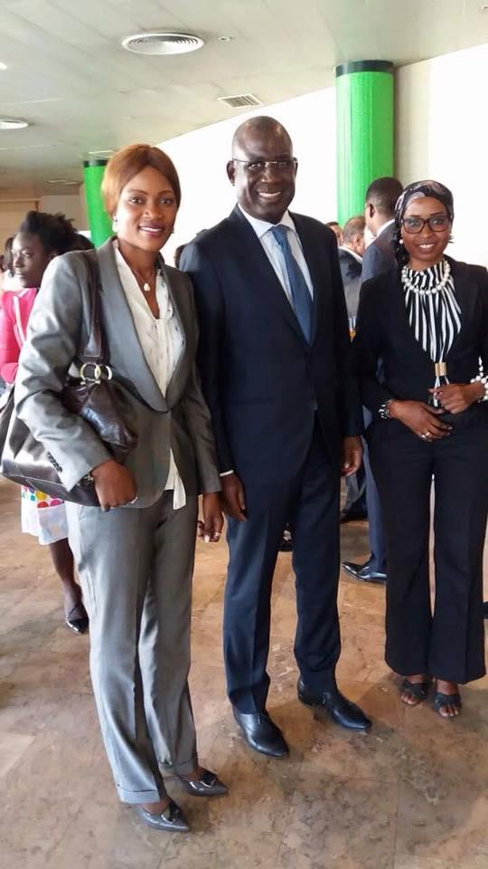 L'ambassadeur, SEM Cheikh Ahmet Tidiane Ndoye au deuxième édition du forum économique Portugal-Sénégal