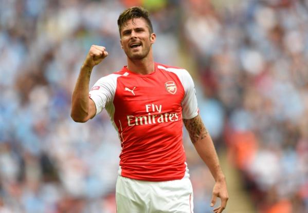 Olivier Giroud et Alexis Sanchez envoient Arsenal en tête provisoire de la Premier League