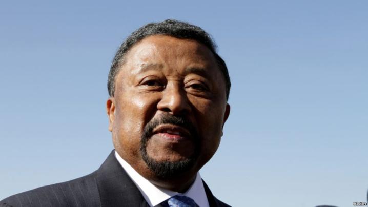 L'opposant gabonais Jean Ping, rival malheureux d'Ali Bongo Ondimba à la présidentielle du 27 août 2016, à Addis-Abeba, Ethiopie, 29 janvier 2012.
