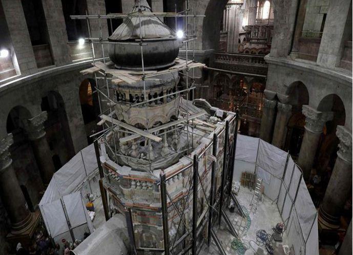 La tombe du Christ ouverte pour la première fois depuis plusieurs siècles à Jérusalem