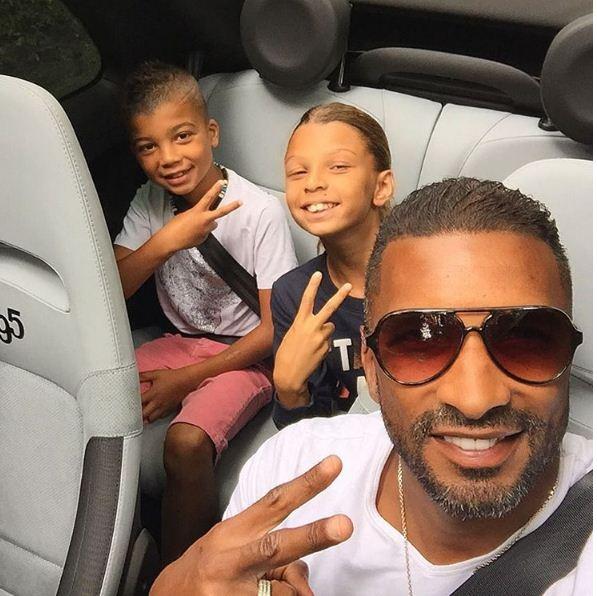 Habib Beye et ses enfants