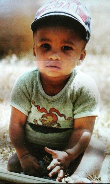 Habib étant bébé