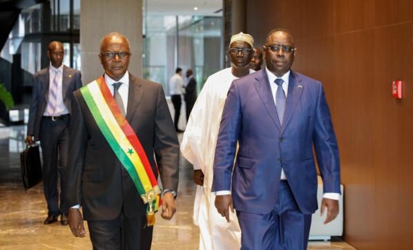 Macky Sall a renouvelé sa totale confiance au Président du HCCT qu'il a peint comme un homme d'Etat engagé qui a une grande vision du service public.