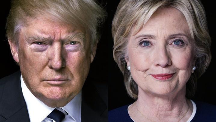 © AFP | Donald Trump n'avait pas devancé Hillary Clinton dans un sondage depuis le mois de mai.