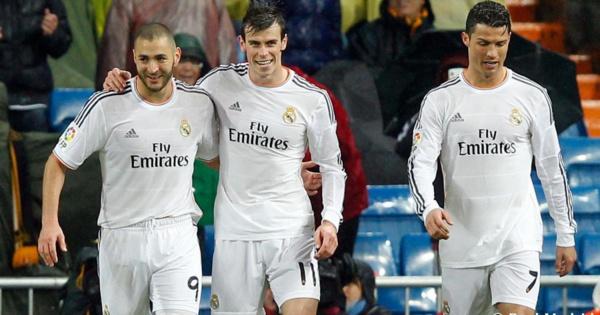 La triplette BBC ou Benzema,Bale, Christiano Ronaldo